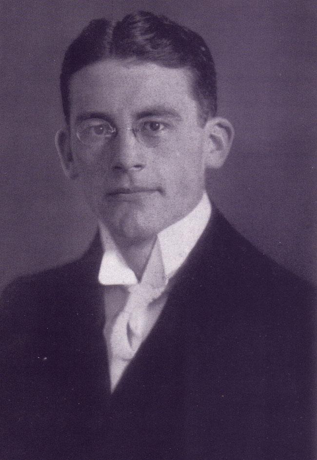 Carl Schmitt als Student 1912